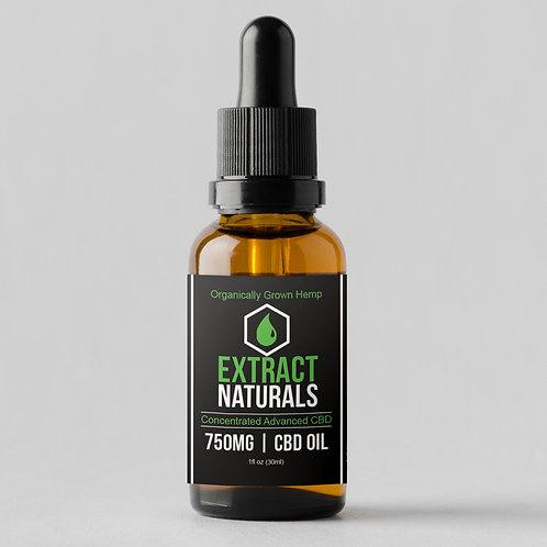 750 mg | Full Spectrum Oil | D8 D9 THC 0.3%