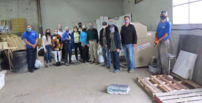 Launch of Greensboro's foam recycling pr