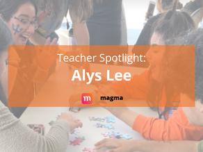 Teacher Spotlight: Alys Lee