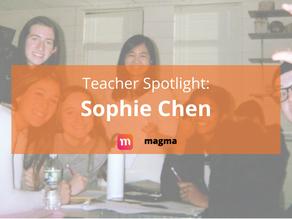 Teacher Spotlight: Sophie Chen