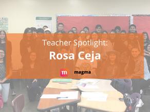 Teacher Spotlight: Rosa Ceja