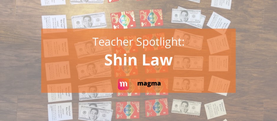 Teacher Spotlight: Shin Law