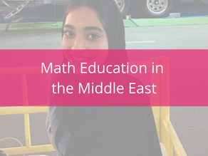 New Teachers and Math Education in the Middle East