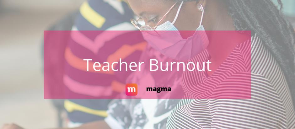 Facing Teacher Burnout in a Pandemic