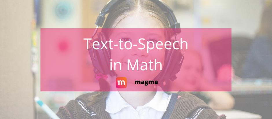 Text-to-Speech with Math