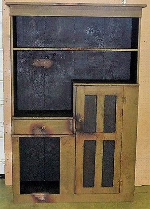 1 Door, 1 Drawer Cabinet - ws