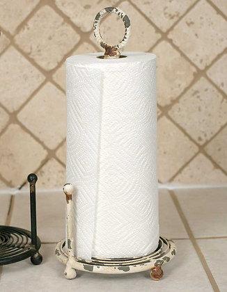 Paper Towel Holder - Antique White