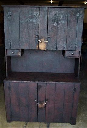 4 Door Stepback Cabinet