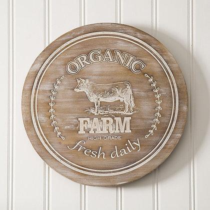 """""""Farm"""" Wood Lazy Susan"""