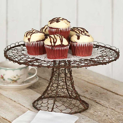 Twisted Wire Cake Stand