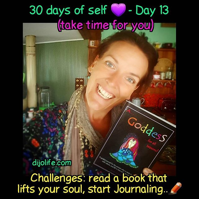 dijolife.com 30 days of self 💜💚_Day 13 - take time to expand your understanding of yourself. (Note