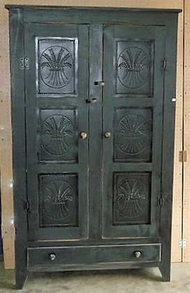 Tin Door Cabinet