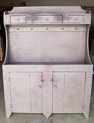 2 Door, 3 Drawer Cabinet with Pegs