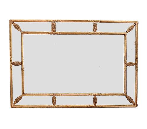 Decorative Italian Gold Mirror