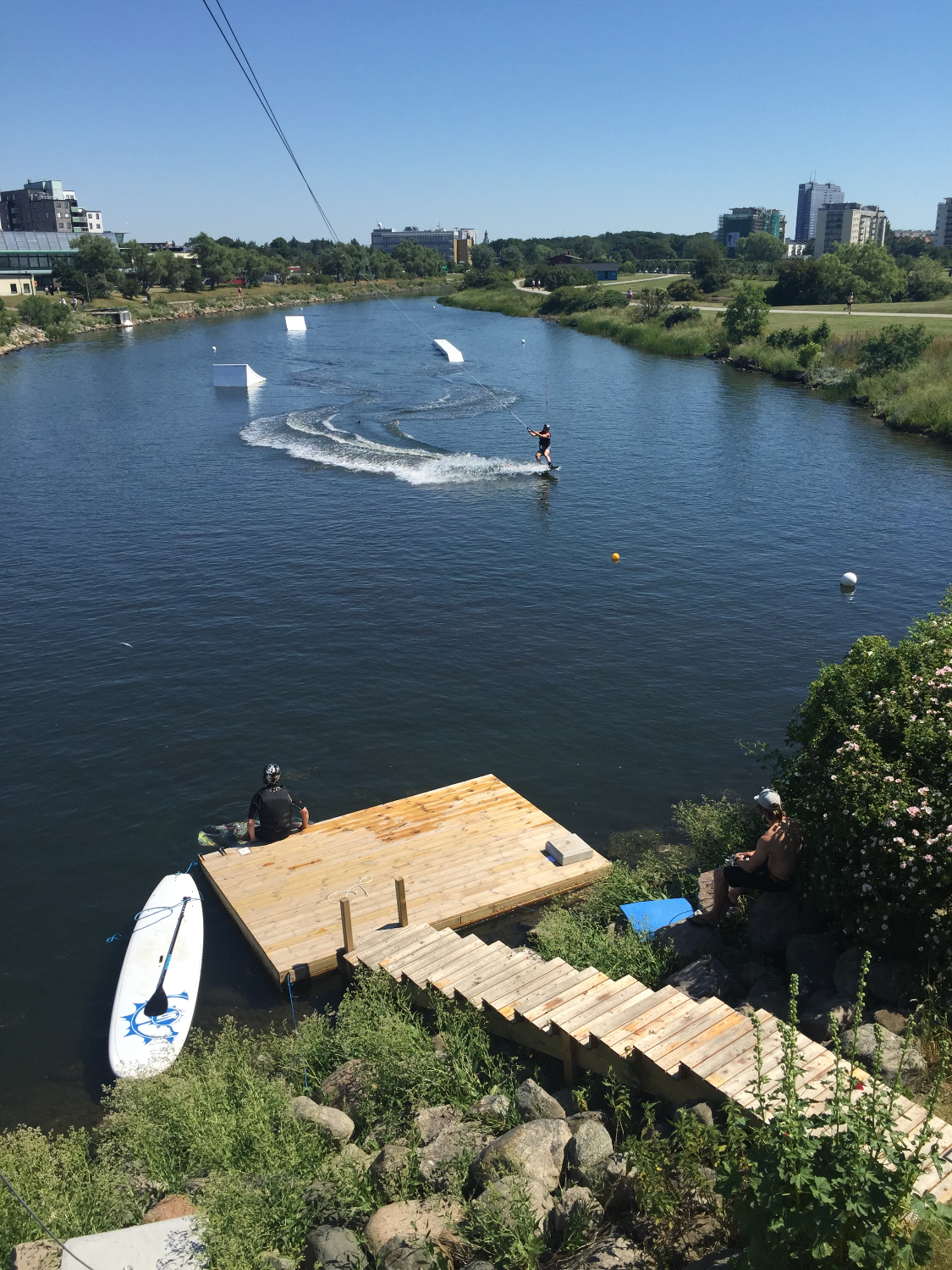 Stand-up paddle Malmö Wake Park