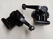 Early AMV8 lever arm rear shock abs