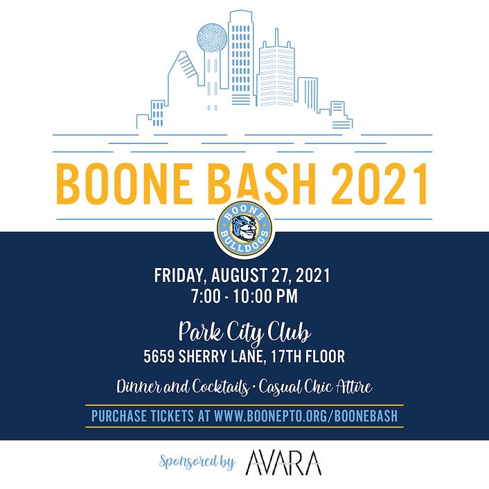 BooneBash 2021