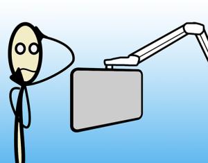 Pas de télé pour les « mêlés »: bons coups, mauvais coups de design inclusif