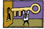 Who holds the keys