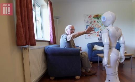 Robots d'assistance pour personnes âgées : entrevue de Pascale Lehoux à Je vote pour la science
