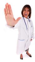 Certains craignent une réaction négative du clinicien