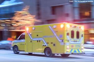 Crédit : Une ambulance à Montréal - Rian McDonald via Youtube.