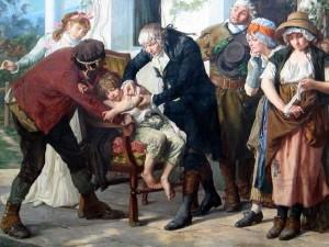 le-docteur-edward-jenner-realisant-le-premier-vaccin-contre-la-variole-en-1796