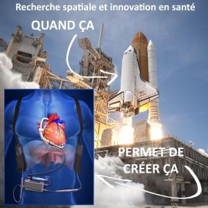 Visuel recherche spatiale et innovation en santé - 1200x1200