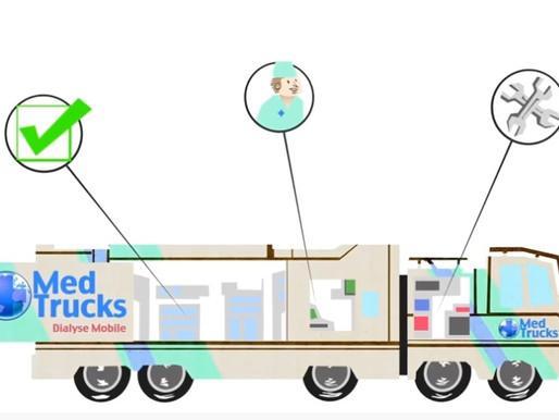 MedTrucks : si tu ne peux aller aux soins, les soins iront à toi