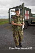 Le rôle des Services de santé des Forces canadiennes