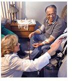 High-tech home care nurses