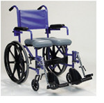 Designing a folding shower-commode wheelchair