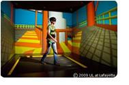 Salle d'immersion de réalité virtuelle