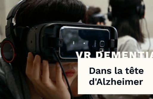 Ressentir les symptômes d'Alzheimer par la réalité virtuelle