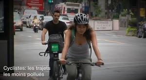 Réduire son exposition à la pollution urbaine grâce à BicyclAir