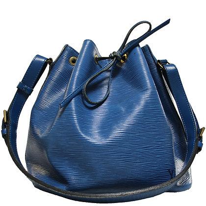 Louis Vuitton Petit Noé Bleu Toledo