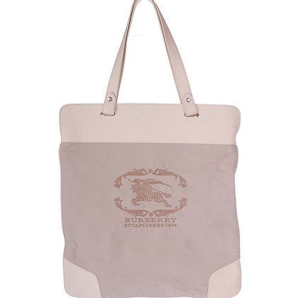 Burberry Stowell Roll up tote