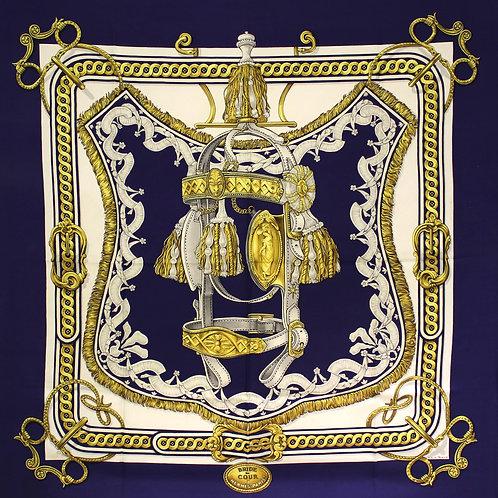 Hermès Carré Bride de Cour