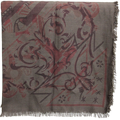 Hermès Schal 140 Khaki