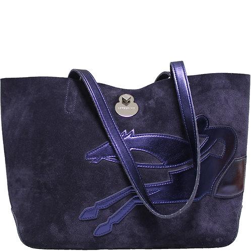 Longchamp Shopper Blau