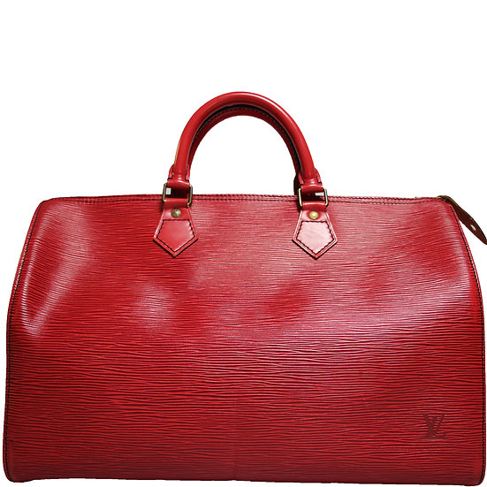 Louis Vuitton Speedy 35 Rot