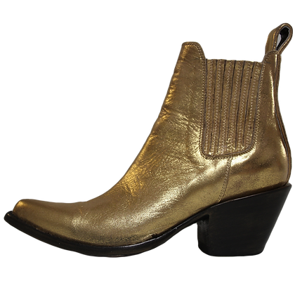 Mexicana Stiefeletten Gold