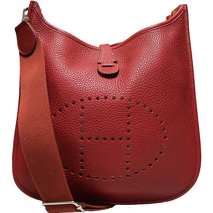 Hermès Evelyne III 29 Rouge Grenat