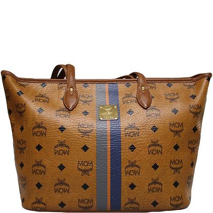 MCM Shopper Cognac