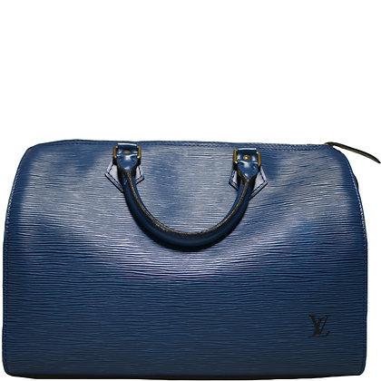 Louis Vuitton Speedy 30 Bleu