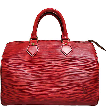 Louis Vuitton Speedy 25 Rot