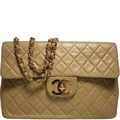 Chanel Maxi Beige