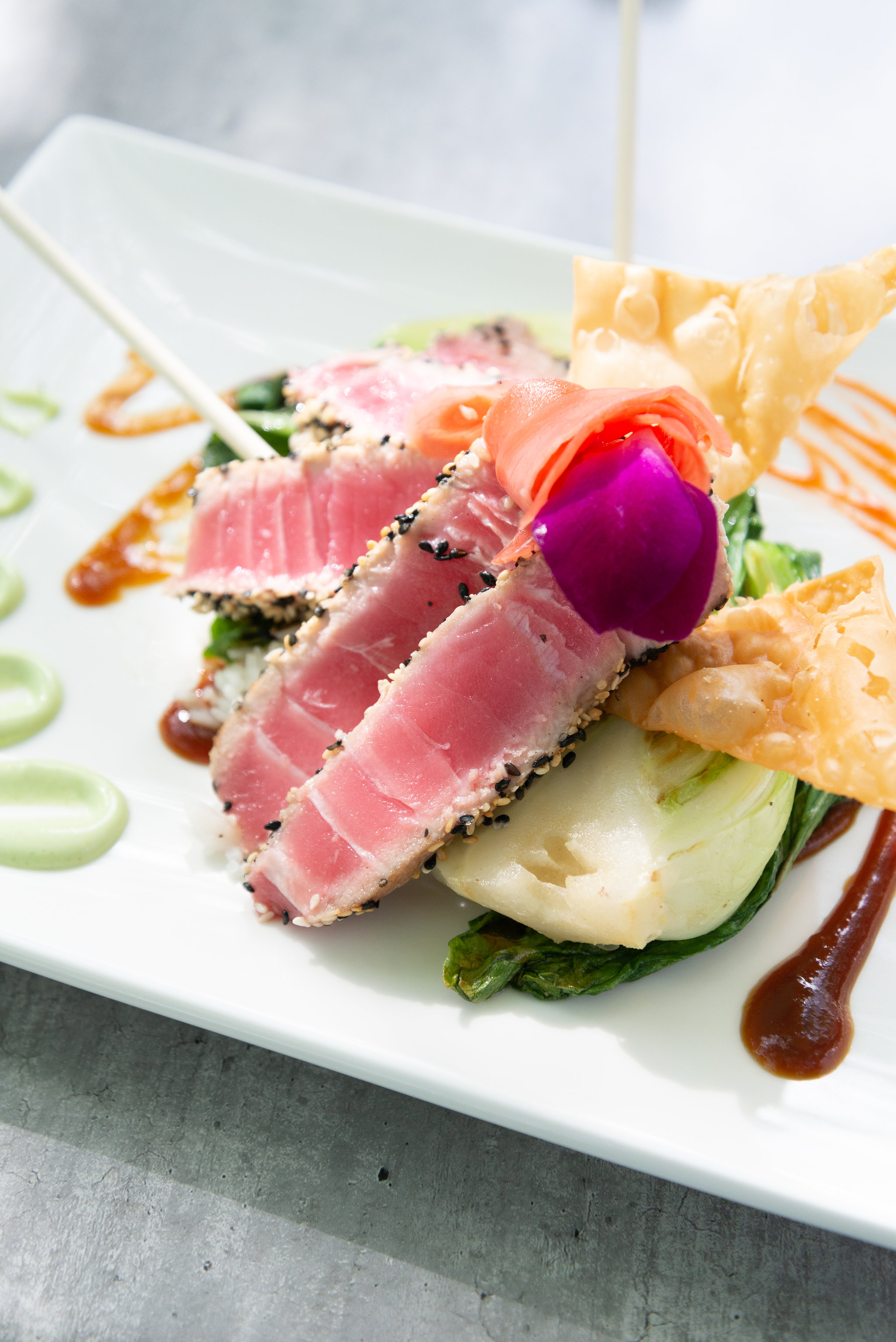 Seared Yellow Fin Tuna