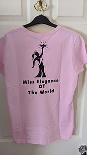 Miss Elegance Of The World T Shirt