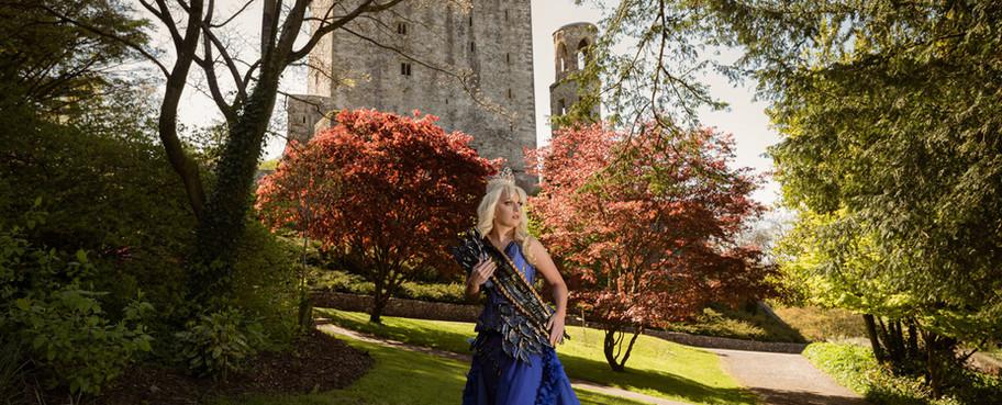 Sandra-at Blarney-Castle Ireland